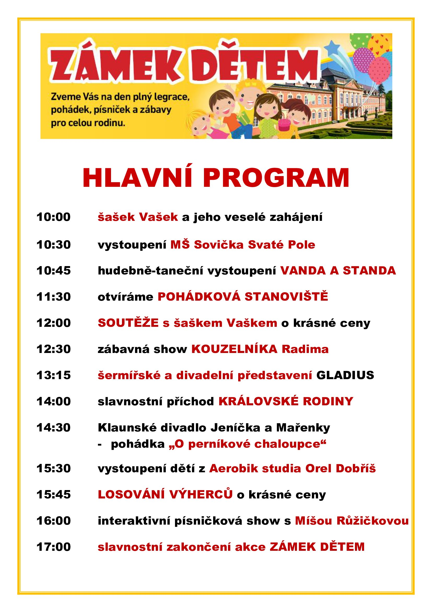 HLAVN PROGRAM 2017